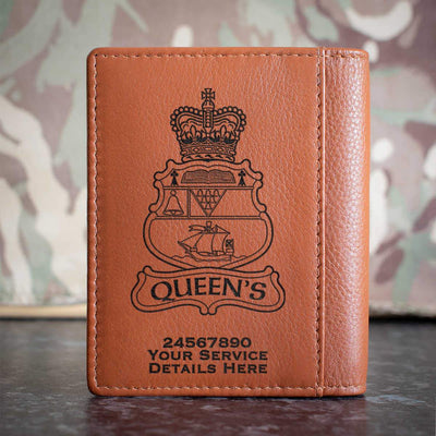 Queens University Officer Training Corps Credit Card Wallet