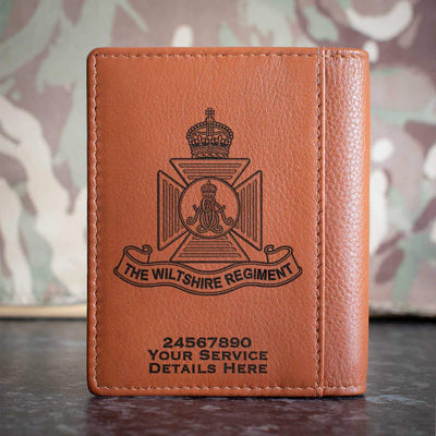 Wiltshire Regiment Credit Card Wallet