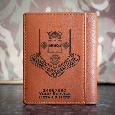 Sheffield University Officer Training Corps Credit Card Wallet