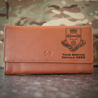 Sheffield University Officer Training Corps Leather Purse
