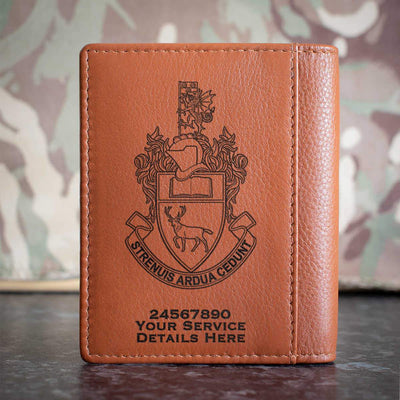 Southampton University Officer Training Corps Credit Card Wallet