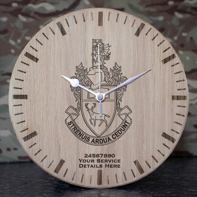 Southampton University Officer Training Corps Oak Clock
