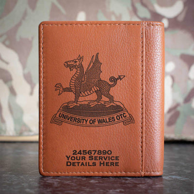 University of Wales Officer Training Corps Credit Card Wallet