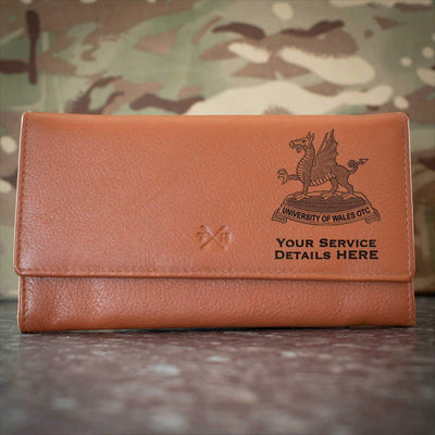 University of Wales Officer Training Corps Leather Purse