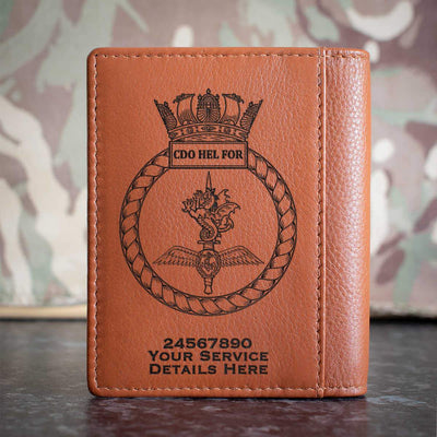 Combined Helicopter Force Credit Card Wallet