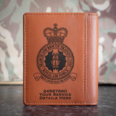 RAF Search and Rescue Training Unit Credit Card Wallet