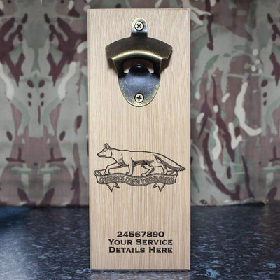 Queens Own Yeomanry Wall-Mounted Bottle Opener