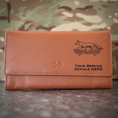 Queens Own Yeomanry Leather Purse