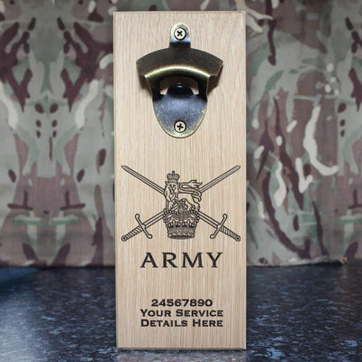 Army Logo Wall-Mounted Bottle Opener
