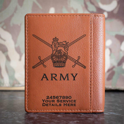 Army Logo Credit Card Wallet