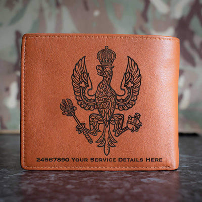 14th20th Kings Hussars Leather Wallet