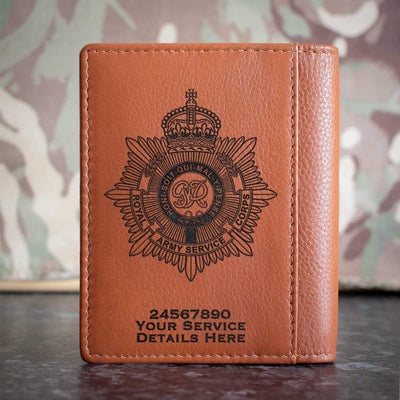 Royal Army Service Corps Credit Card Wallet