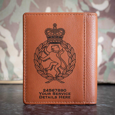 Womens Royal Army Corps Credit Card Wallet