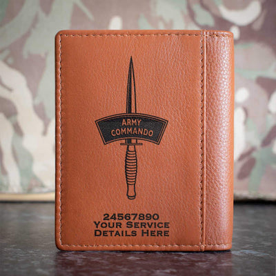 Army Commando Dagger Credit Card Wallet