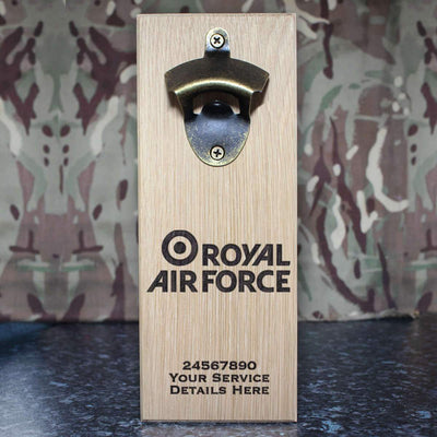 RAF Brand Logo Wall-Mounted Bottle Opener