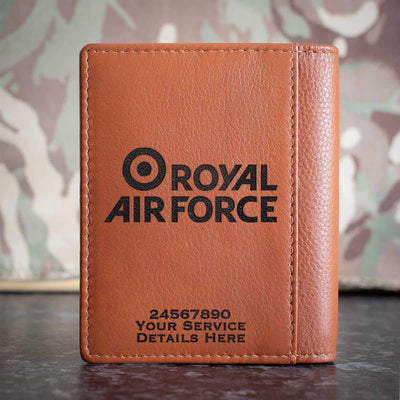 RAF Brand Logo Credit Card Wallet