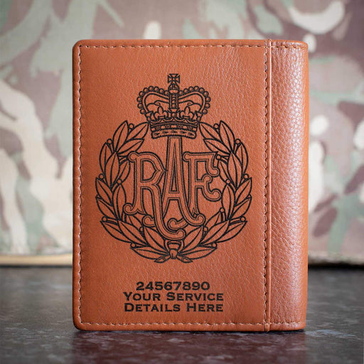 RAF Cap Badge Credit Card Wallet