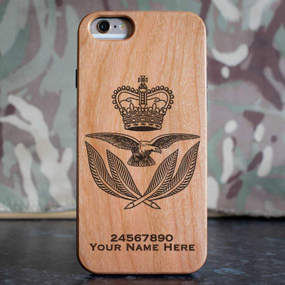 RAF Warrrant Office Cap Badge Phone Case