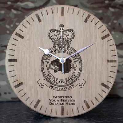 RAF 1 Group Headquarters Oak Clock