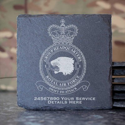RAF 1 Group Headquarters Slate Coaster