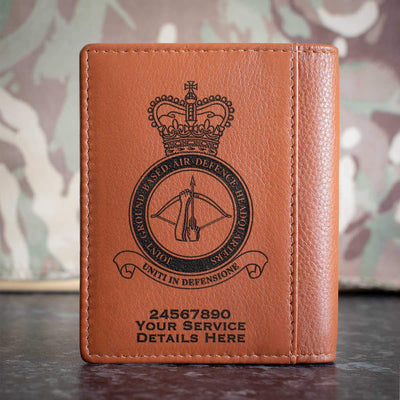 RAF Joint Ground Based Air Defence Headquarters Credit Card Wallet