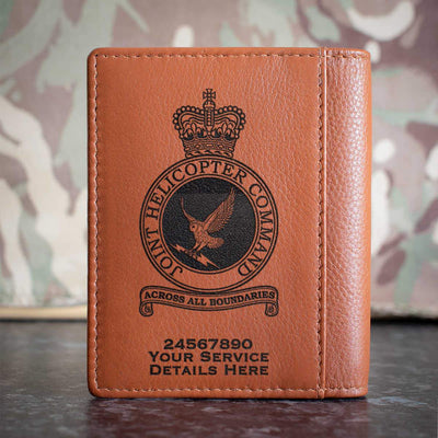 RAF Joint Helicopter Command Crest Credit Card Wallet