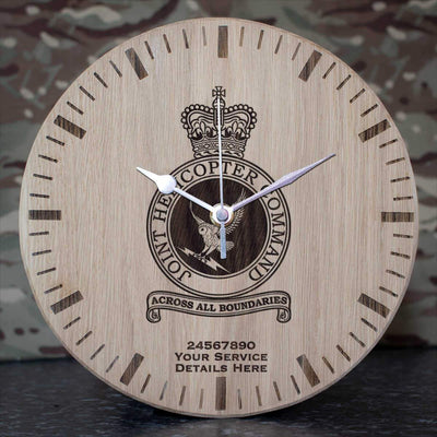 RAF Joint Helicopter Command Crest Oak Clock