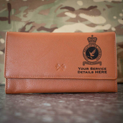RAF Joint Helicopter Command Crest Leather Purse