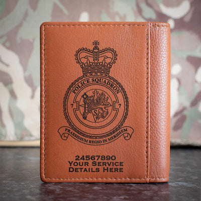 RAF 7 Police Squadron Credit Card Wallet
