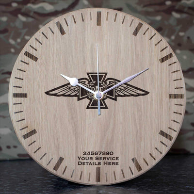 RAF Chaplain Brevet Oak Clock