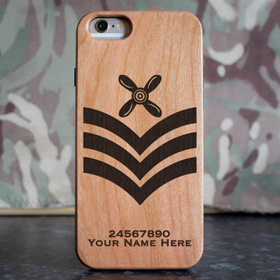 RAF Chief Technician Rank Slide Phone Case