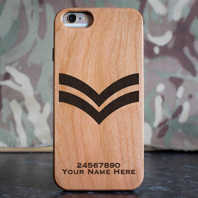 RAF Corporal Rank Slide Phone Case