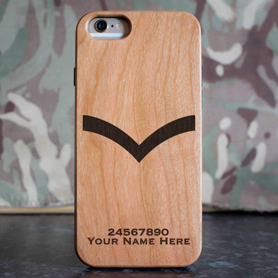 RAF Lance Corporal Rank Slide Phone Case