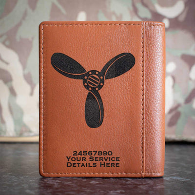 RAF SAC Rank Slide Credit Card Wallet