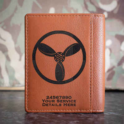 RAF SAC Technician Rank Slide Credit Card Wallet