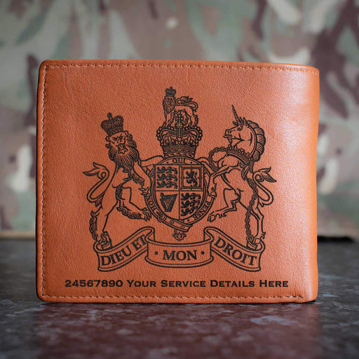 Warrant Officer Badge Leather Wallet