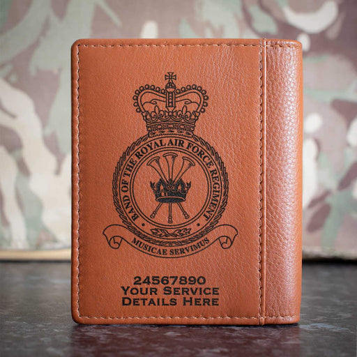 RAF Band of the RAF Regiment Credit Card Wallet