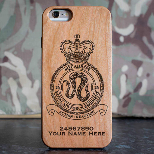 RAF Regiment 26 Squadron Phone Case