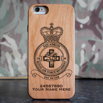 RAF Regiment 34 Squadron Phone Case