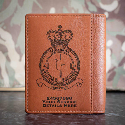 RAF Regiment 37 Squadron Credit Card Wallet