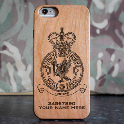 RAF 3 Flying Training School Phone Case