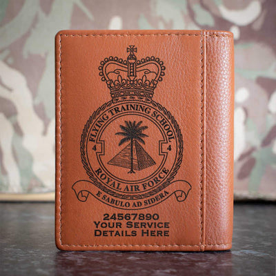 RAF 4 Flying Training School Credit Card Wallet