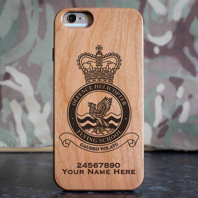 RAF Defence Helicopter Flying School Phone Case