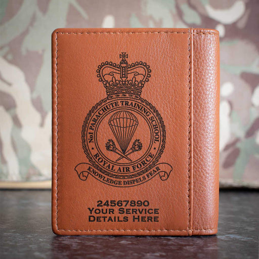 RAF No1 Parachute Training School Credit Card Wallet