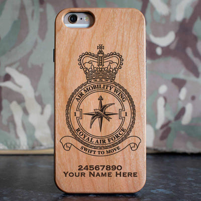 RAF 1 Air Mobility Wing Phone Case