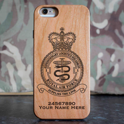 RAF 1 Expeditionary Logistics Squadron Phone Case