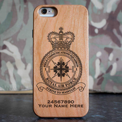 RAF 1 Field Communications Squadron Phone Case