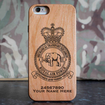 RAF 2 Mechanical Transport Squadron Phone Case