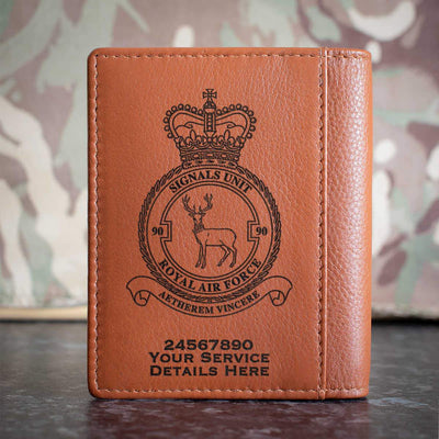 RAF 90 Signals Unit Credit Card Wallet