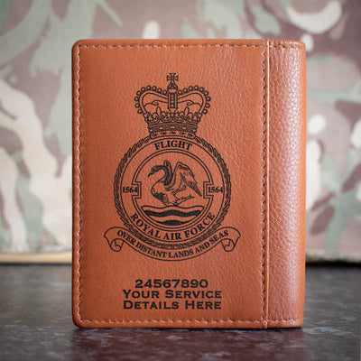 RAF 1564 Flight Credit Card Wallet